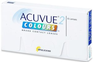 Acuvue 2 colours - оттеночные контактные линзы