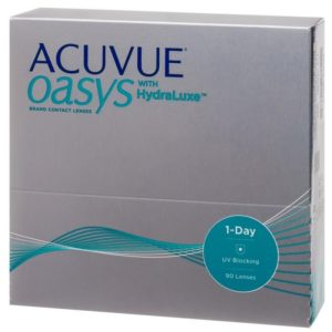 Acuvue Oasys 1-day с технологией HydraLuxe