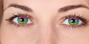 Коррекция зрения и смена образа с цветными линзами