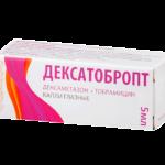 Глазные капли Дексатобропт