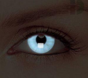 Неоновые светящиеся линзы для глаз