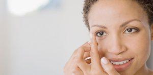 Инструкция надевания контактных линз