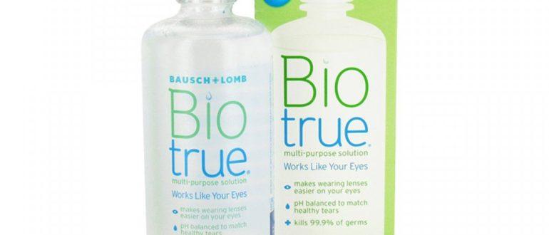 Раствор Biotrue для контактных линз