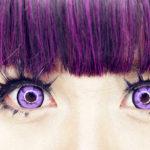 Каким глазам подойдут фиолетовые линзы