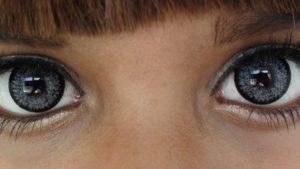 Серые контактные линзы