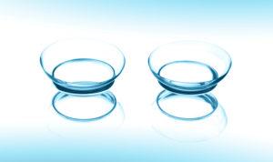 При каком зрении носят контактные линзы