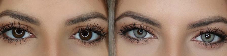 Какому цвету глаз подойдут