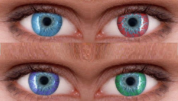 Карнавальные контактные линзы