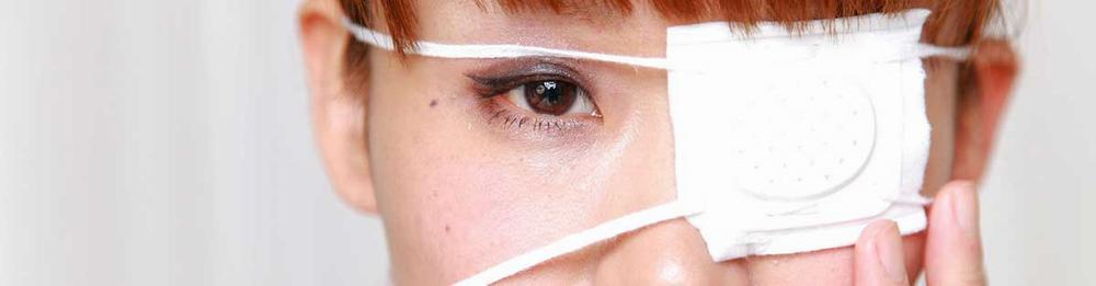 Химический ожог глаза
