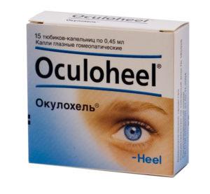 Гомеопатические капли для глаз