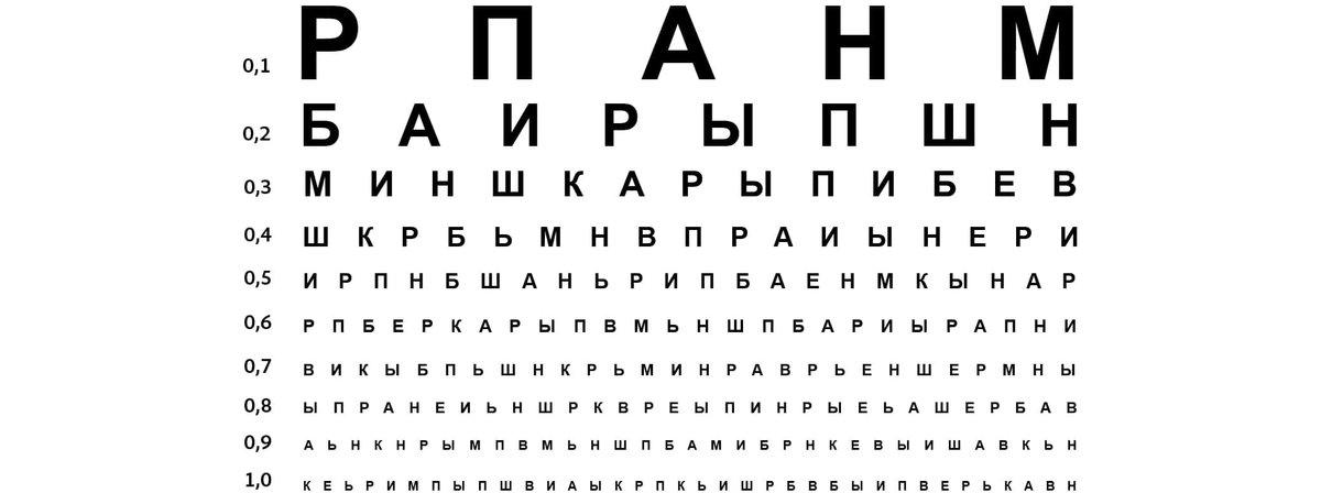 таблица глазного фото буквы этот праздник