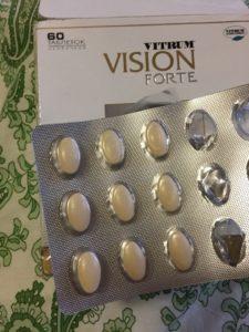 Витамины для глаз Витрум Вижн форте