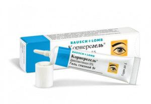 Мази для глаз от воспаления и покраснения