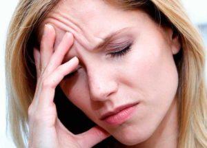 Болит голова в области глаз и лба