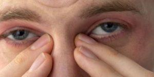 болят глаз по ночам