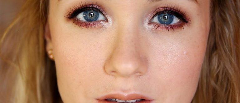 Серо-голубой цвет глаз