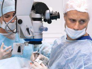 Лазерная дисцизия вторичной катаракты