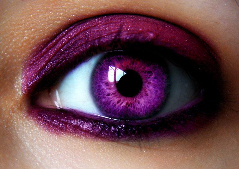 бруссонетии имеет картинка фиолетовая с глазами такой