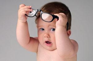 Норма зрения с рождения до 1 года