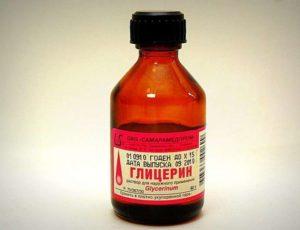 Лечение глицерином