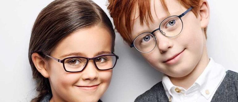 Модные оправы для очков для девочек и мальчиков