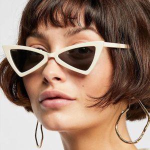 Модные треугольные очки