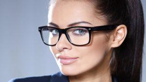Как правильно должны сидеть очки