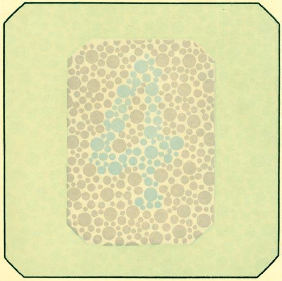 Таблица Рабкина: проверка на дальтонизм с картинками