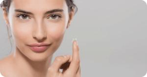 эстетичность контактных линз