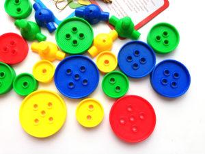 игра с пуговицами для зрения у детей